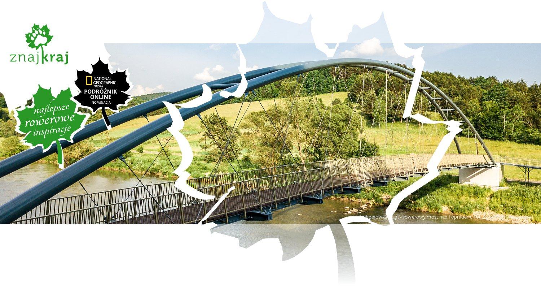 Andrzejówka-Ługi - rowerowy most nad Popradem