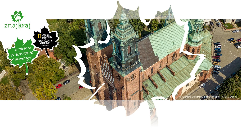 Archikatedra w Poznaniu z góry