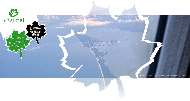 Bałtyjsk i Cieśnina Piławska z góry