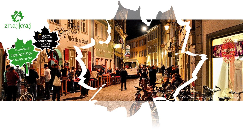 Bamberg nocą - Brödla z prawej