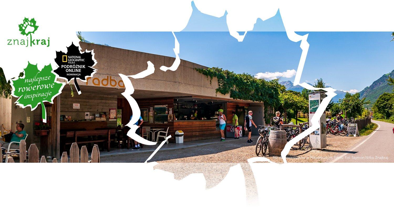 Bar dla rowerzystów w Południowym Tyrolu