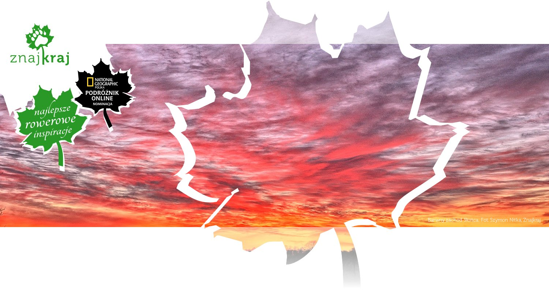 Barwny zachód Słońca