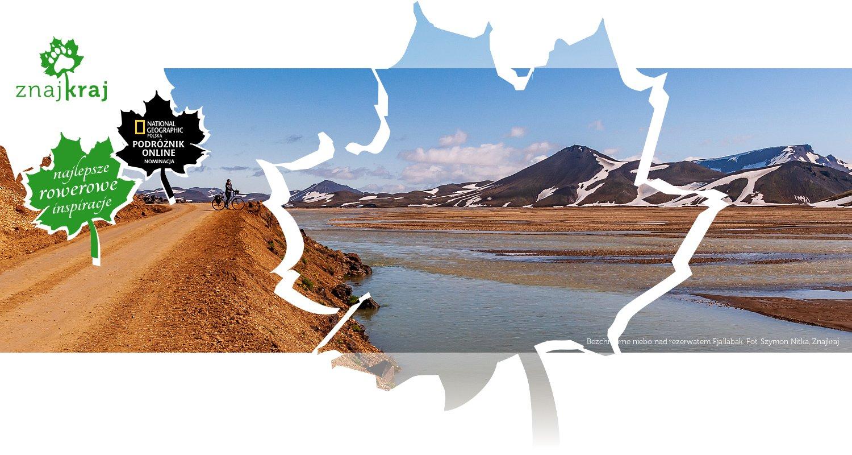 Bezchmurne niebo nad rezerwatem Fjallabak