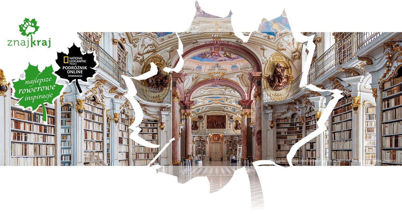 Biblioteka w klasztorze benedyktynów w Admont