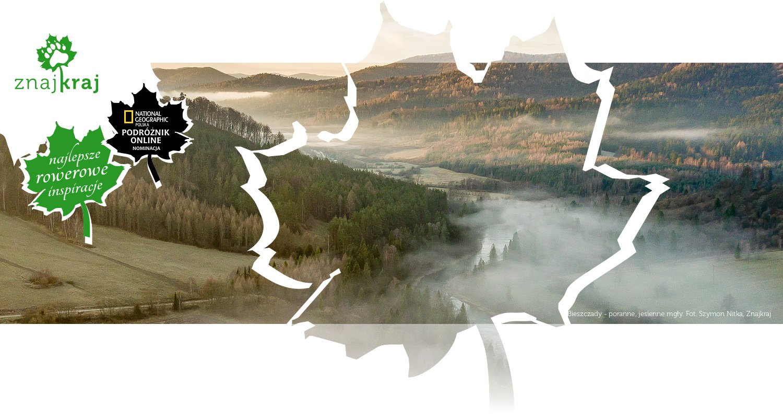 Bieszczady - poranne, jesienne mgły