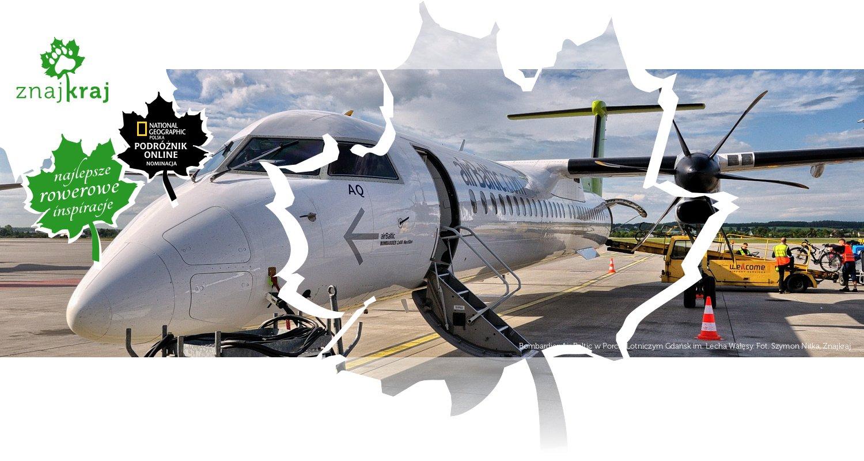 Bombardier Air Baltic w Porcie Lotniczym Gdańsk im. Lecha Wałęsy