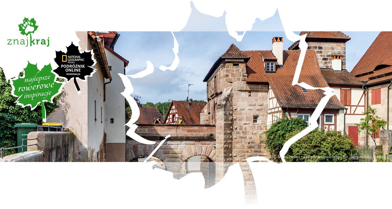 Brama i wjazd na zamek w Cadolzburgu
