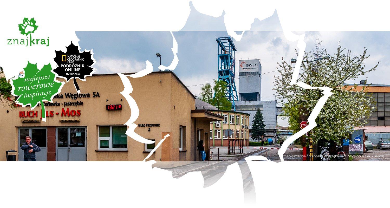 Brama wjazdowa do kopalni Jastrzębie