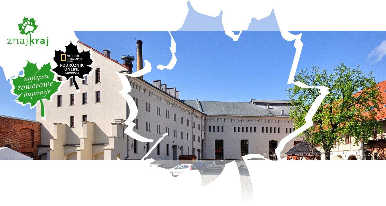 Browar Zamkowy - widok z dziedzińca zamku