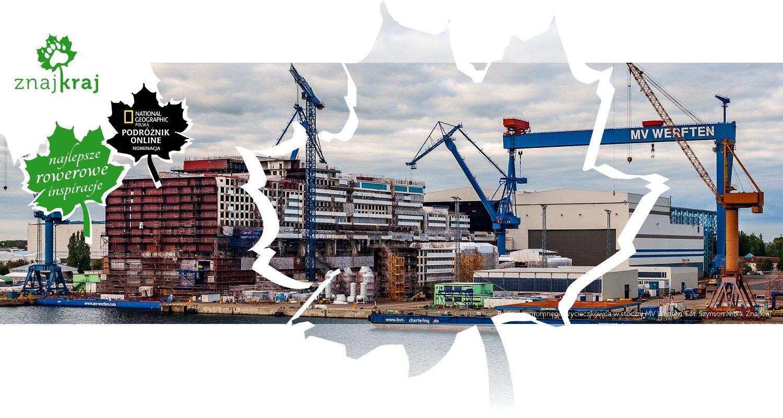Budowa ogromnego wycieczkowca w stoczni MV Werften