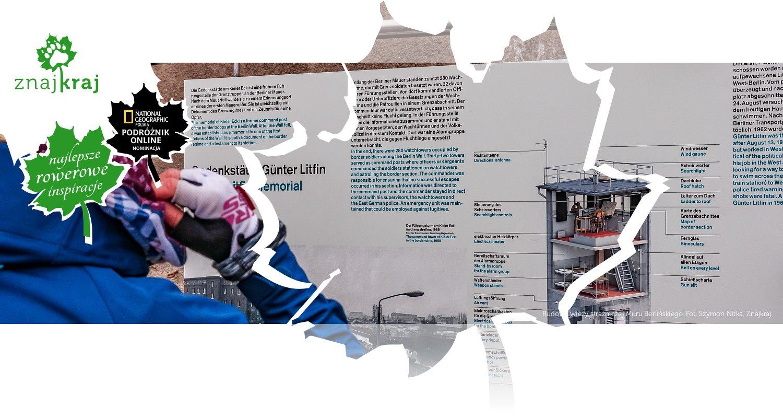 Budowa wieży strażniczej Muru Berlińskiego