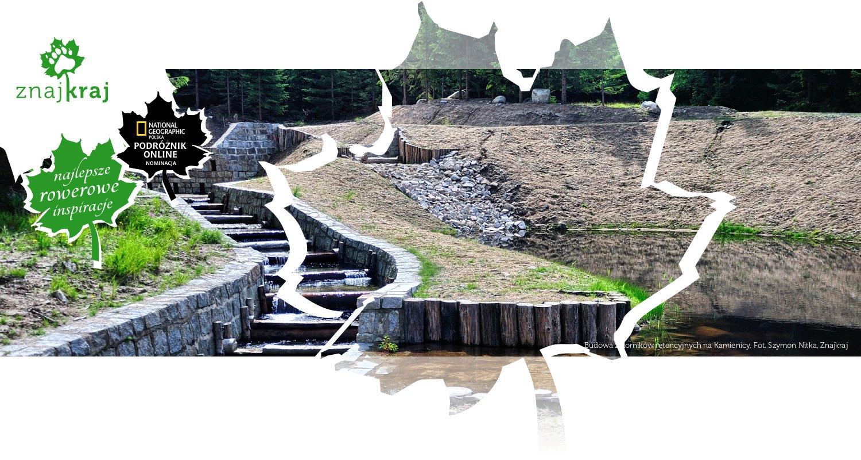 Budowa zbiorników retencyjnych na Kamienicy