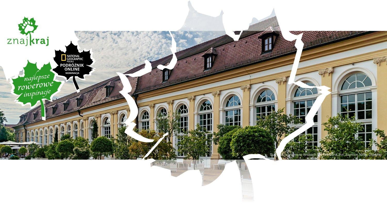 Budynek oranżerii w Ansbach we Frankonii