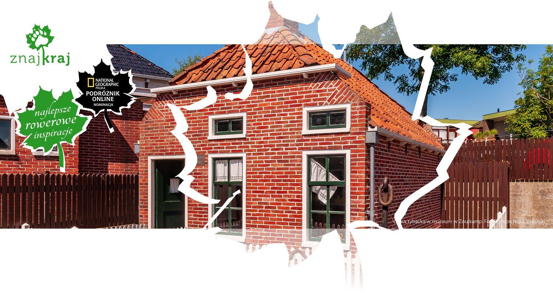 Chata rybacka w muzeum w Zoutkamp