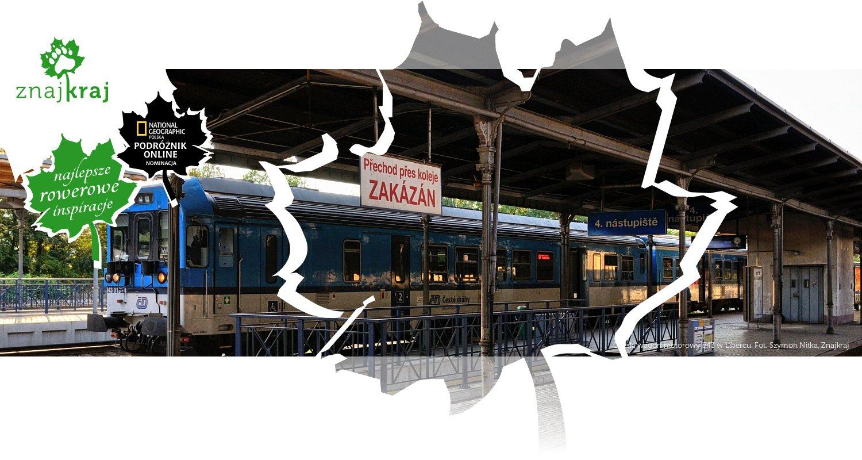 Czeski wagon motorowy 843 w Libercu