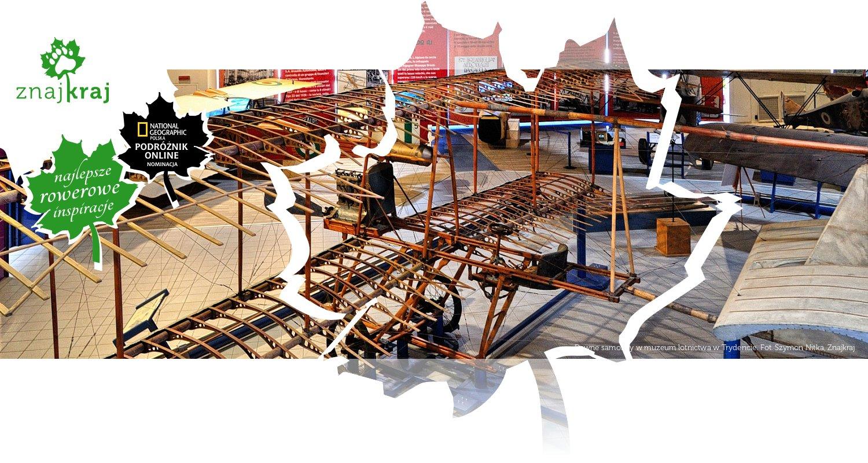 Dawne samoloty w muzeum lotnictwa w Trydencie