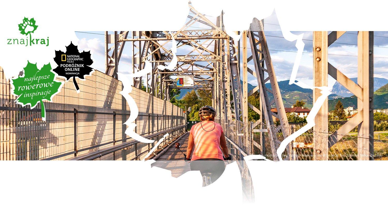 Dawniej most kolejowy, dzisiaj rowerowy, we Włoszech