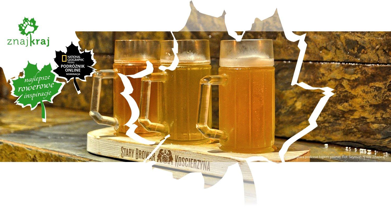 Degustacja piwa podczas kąpieli piwnej