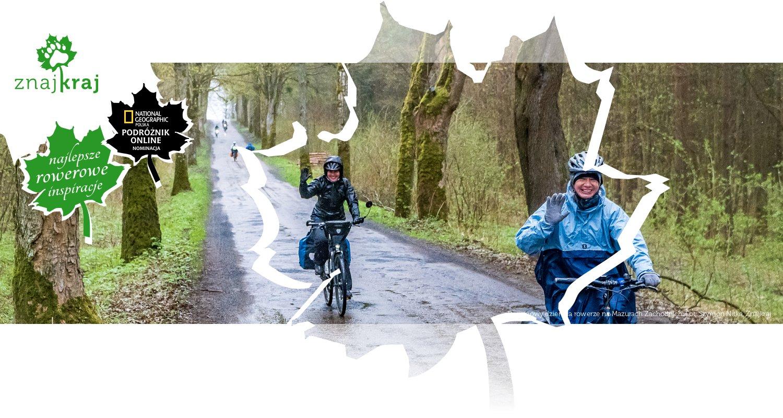 Deszczowy dzień na rowerze na Mazurach Zachodnich