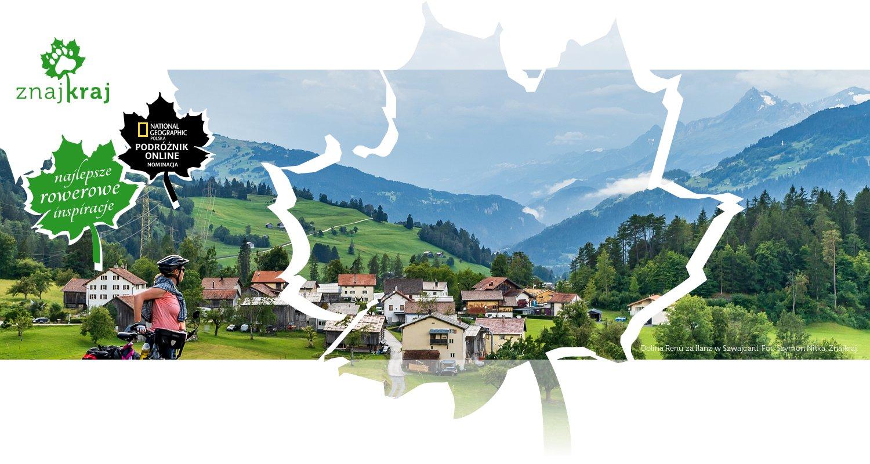 Dolina Renu za Ilanz w Szwajcarii