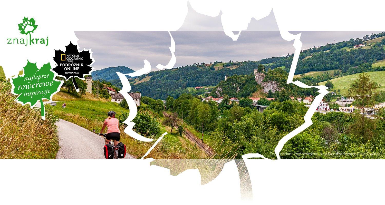 Dolny odcinek trasy rowerowej rzeki Enns