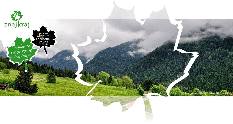 Dolomity di Brenta w chmurach