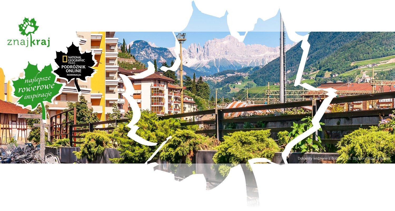 Dolomity widziane z Bolzano