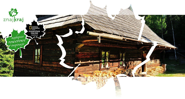 Drewniana chata w Muzeum Kisuckiej Wsi