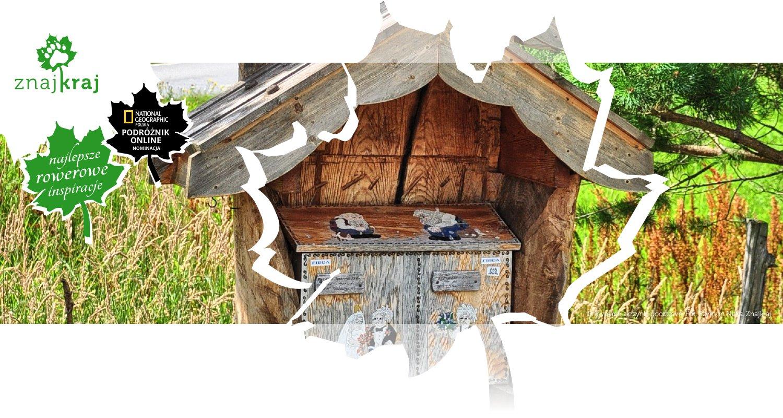 Drewniane skrzynki pocztowe