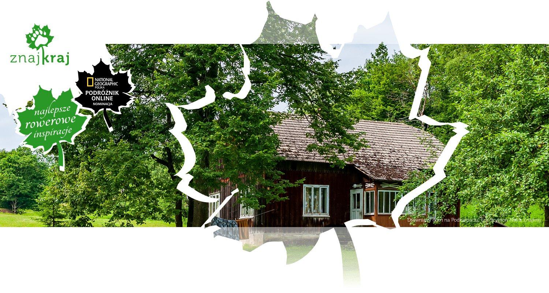 Drewniany dom na Podkarpaciu