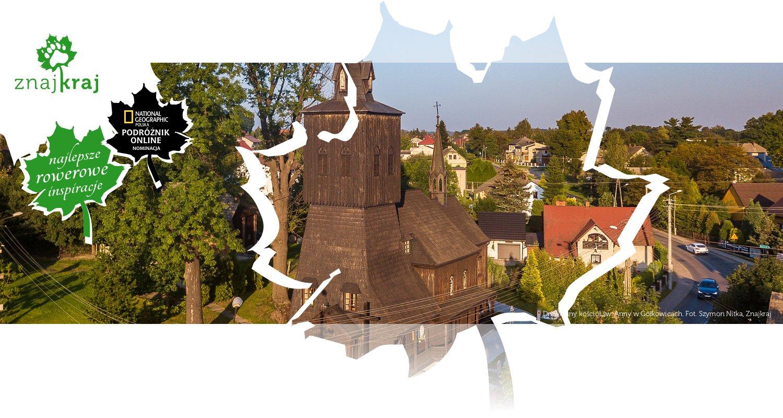 Drewniany kościół św. Anny w Gołkowicach