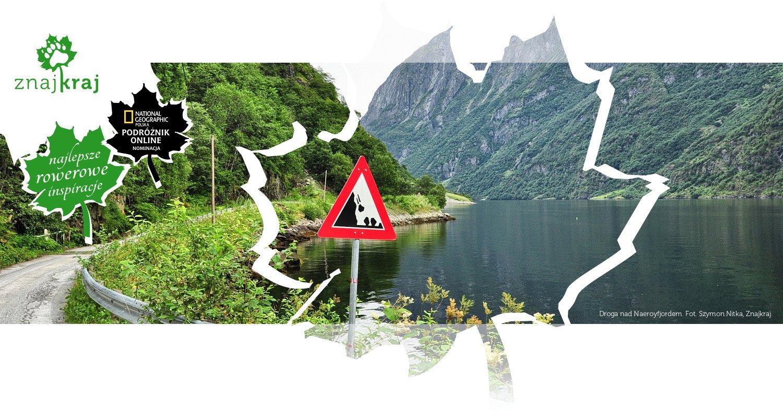 Droga nad Naeroyfjordem