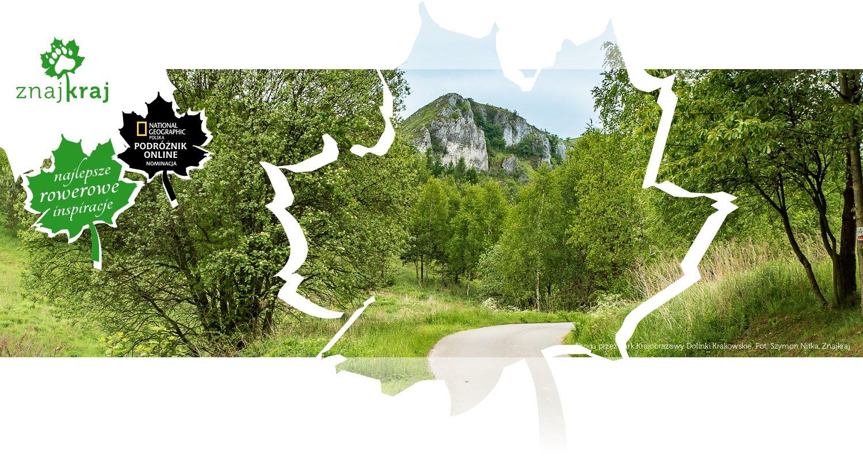 Droga przez Park Krajobrazowy Dolinki Krakowskie