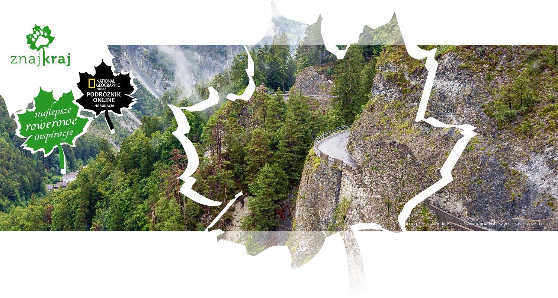 Droga przez Wielki Kanion Szwajcarii