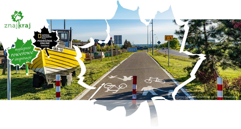 Droga rowerowa EuroVelo 10 w Swarzewie