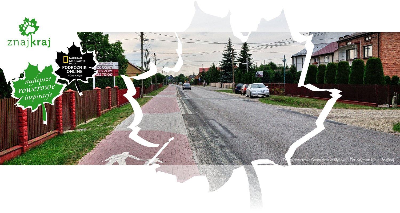 Droga rowerowa Green Velo w Kłyżowie