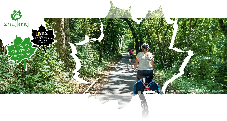 Droga rowerowa koło Norymbergi we Frankonii