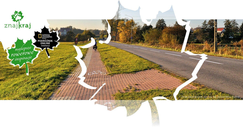 Droga rowerowa koło Sianowa