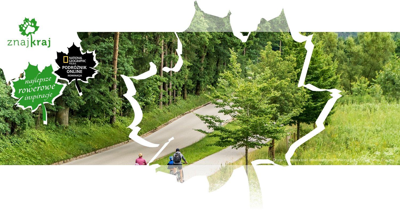 Droga rowerowa koło Windsbach we Frankonii