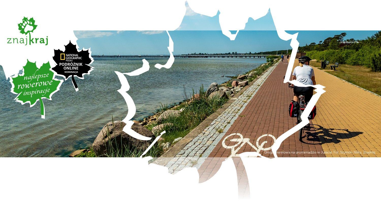 Droga rowerowa na promenadzie w Juracie