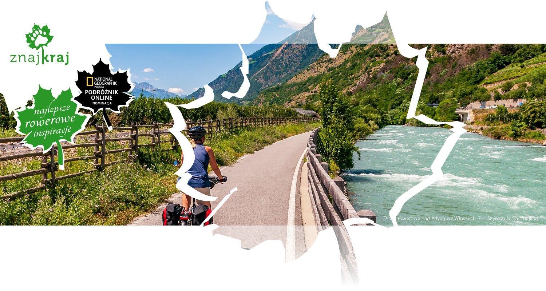 Droga rowerowa nad Adygą we Włoszech