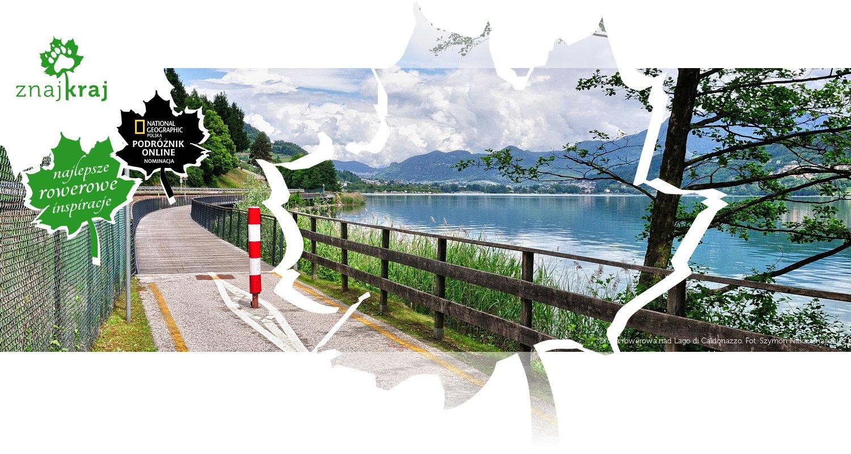 Droga rowerowa nad Lago di Caldonazzo