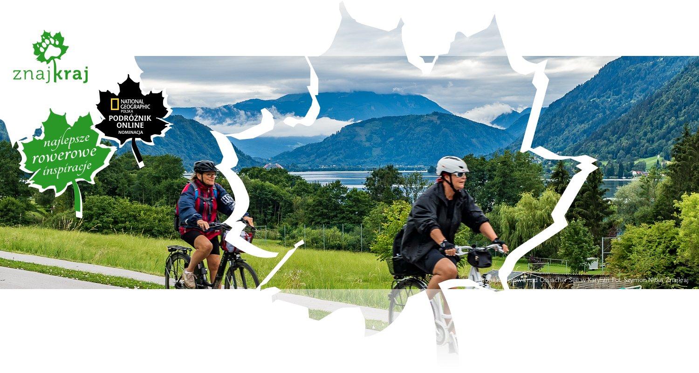 Droga rowerowa nad Ossiacher See w Karyntii