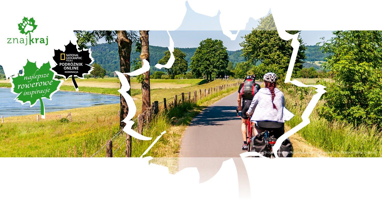 Droga rowerowa nad Wezerą za Holzminden
