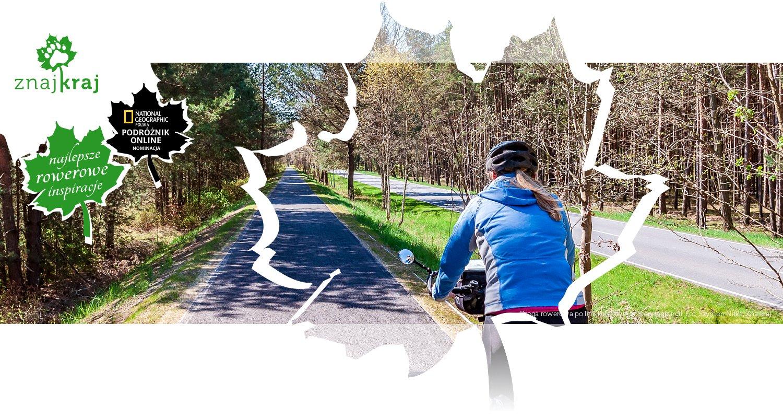 Droga rowerowa po linii kolejowej w Brandenburgii