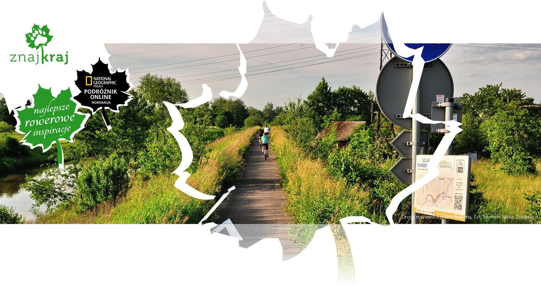 Droga rowerowa przed Skawiną