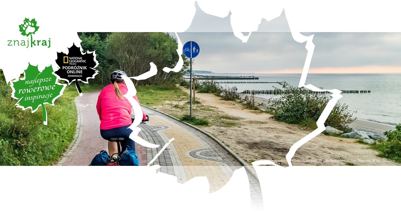 Droga rowerowa szlaku EuroVelo 10 koło Kołobrzegu