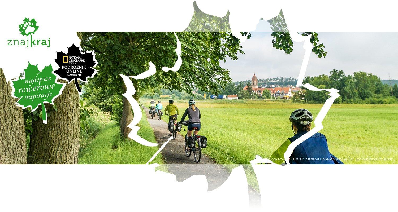 Droga rowerowa szlaku Śladami Hohenzollernów