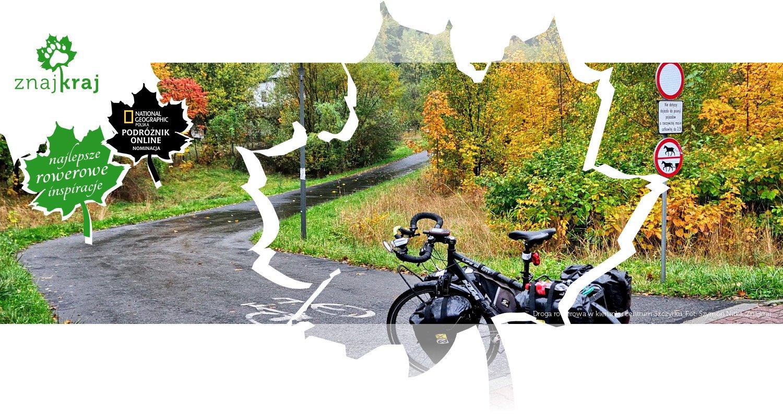 Droga rowerowa w kierunku centrum Szczyrku