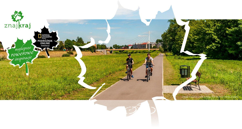 Droga rowerowa wdłuż Sanu